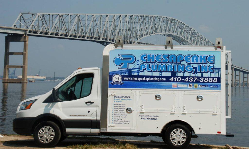 Chesapeake Plumbing Truck